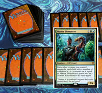mtg BLUE GREEN SIMIC PIONEER DECK Magic the Gathering rares master biomancer