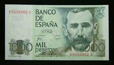 More details for spain mil pesetas banknote 23.10.1979 (1982) p# 158