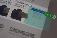 2x LCD Screen Protector for Panasonic G85 G80 Digital Camera NEW