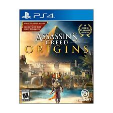PS4 Assassin's Creed Origins  (Sony PlayStation 4, 2017)  Brand NEW - SHIPS FREE