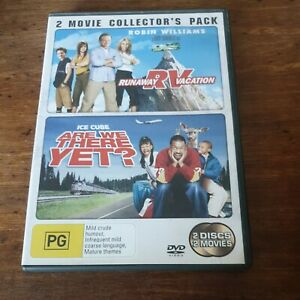 Runaway Vacation RV + Are We There Yet DVD R4 Like New! FREE POST