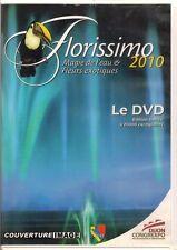 DVD  - florissimo-Dijon - Magie de l'eau et fleurs exotiques - 2010