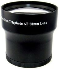 3.5x HD Tele Lens for Canon GL1 GL2 HFG10 HFS10 HFS100 HFS11 HFS20 HFS21 HFS200