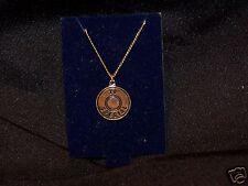 2 38 SPECIAL Gold Color Metal Necklaces Pendants NM