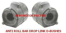 FOR FORD FUSION (02) ALL CARS FRONT ANTI ROLL STABILISER DROP LINK BAR D BUSH X2