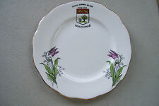 """Queen Anne fine China 6"""" Plate Prince Edward Island Canada Made In England"""