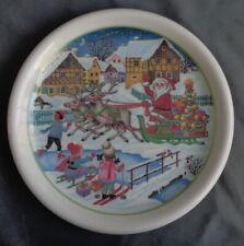 ARZBERG KERSTMIS bord 26,5cm CHRISTMAS plate WEIHNACHTEN Teller NOELLE Assiette