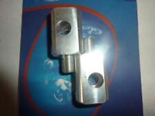 Subbase de reposapiés motorrad Beta 50 RR 08BE03 soporte aluminio platino c