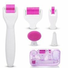 6 in 1 Derma Roller Facial Skin Care Therapy Micro Needle Titanium For Face Baby