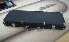 500 Poker Chip Black Aluminum Case Casino Style Holds Decks & Dice + Keys *