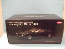 LAMBORGHINI Miura P 400 ( Black) scale 1:18 by Kyosho