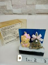 Hello Kitty Christmas Tree Light Up Small Figurines Ornament Deco- Working