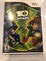 NEW! Ben 10: Omniverse (Nintendo Wii, 2012) - SEALED! Great Kids Game!!