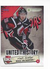 2014-15 Moose Jaw Warriors (WHL) Noah Gregor (San Jose Sharks)
