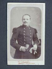cdv Militaire 106e régiment d'infanterie Châlons-sur-Marne  G. DURAND 19e siècle