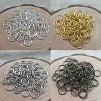 2000 PCS 4MM 6MM 8MM DIY Making Jewelry Findings Opening Connectors Jump Rings