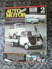 AMK 1998-02,HONDA CB750 KO,NORTON RACER,ISO ISETTA,MUNCH MAMMUT,FIAT 600,HARVEST