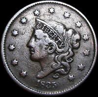 1835 Coronet Head Large Cent Penny --- NICE --- #C139