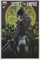 Secret Empire 1 Marvel 2017 NM Dale Keown Variant X-23 Wolverine Hydra