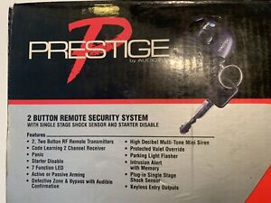Audiovox Prestige (APS-15KB) 2 Button Remote Security System With Shock Sensor