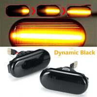 Dynamic LED Side Marker Repeater Indicator Light For Nissan Navara 350Z Qashqai