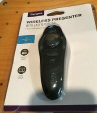 Targus Wireless Presenter w/ Laser Pointer for Pc + Mac-40Ft Wireless Range -New