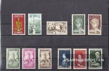 Saarland postfrisch 1956 kompletter Jahrgang in sauberer Erhaltung