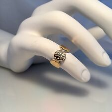 SOLD OUT! ANNA BECK  ring, gold and sterling silver, size 6, NWT