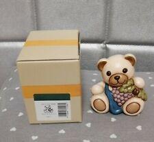 Thun Teddy uva edizione limitata Bolzano Thuniversum orsetto collezione 8 cm