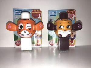 New! Mega Bloks First Builders Peek A Blocks FOX And TIGER