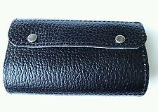Shotgun Choke Case / 12 Bore Cartridge Case Black/Cream Leather Clay Shooting