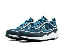 NIKE AIR ZOOM SPIRIDON '16 9.5 926955-400 navy blue michigan stash red og