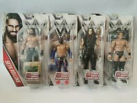 WWE THEN NOW FOREVER Set Of 4 - Jericho Sin Cara Rollins Undertaker New RARE