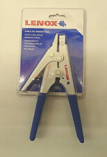 Lenox Cable Tie Tension Tool Lxht73566H New light/heavy duty - cut-off excess