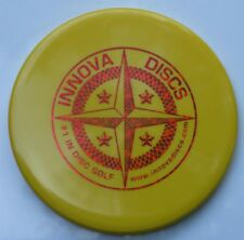 Innova Star Rat 1St Run Protostar 171.5 Grams Yellow W/Red Fractal 1St-Run Stamp