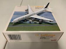 """Lufthansa Airbus A340-600 """"Star Alliance"""" (D-AIHC) 1:400 Herpa 560818"""
