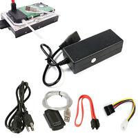 New USB 2.0 to IDE SATA S-ATA 2.5 3.5 HD HDD Hard Drive Adapter Converter Cable