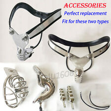 Redesigned Stainless Steel Male Chastity Belt Device New Replacement Accessories