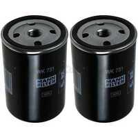 2x Original MANN Kraftstofffilter WK 731 Fuel Filter