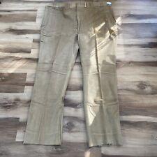 Vintage Saturdays Gentlemen's Britches khaki Corduroy pants USA made Men's 56x37