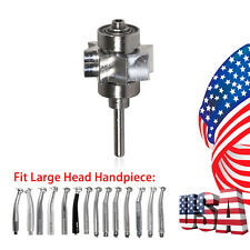 Dental Cartridge Turbine Rotor LED E-generator Handpiece YBB Large Head Torque