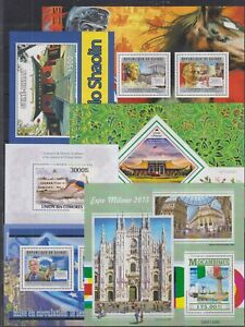 C903. 6 Difirent items - MNH - Architecture