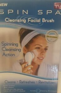 Spin Spa Cleansing Facial Brush As Seen on TV NEW IN BOX
