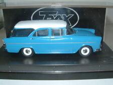 1/43 TRAX 1961 HOLDEN EK SPECIAL STATION WAGON IN BLUE/WHITE, AUSTRALIA TG
