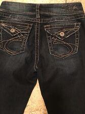 "Silver Suki Surplus Boot Cut Women's Jeans Size W 28/L32"""