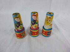 3 Vtg Cardboard Toy Kaleidescopes Made in Japan