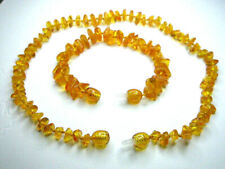BALTIC AMBER CHILDREN'S NECKLACE AND BRACELET