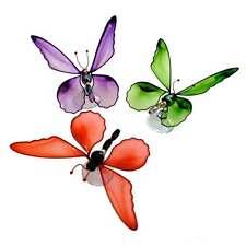 Butterfly Window Sucker - Assort Colours - Handmade in South Africa - Fair Trade