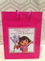 Dora the Explorer Bags Lollie Boxes Cups Loots Party Favours Birthday Supplies