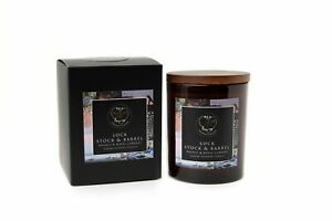 Bea Loves Soy Candle Designer Inspired Walnut & Currant : Lock & Stock